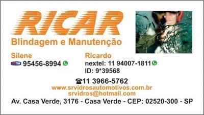RICAR – Blindagem, Manutenção e Martelinho de Ouro