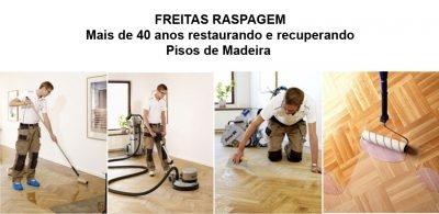 RASPADORA FREITAS – Restauração de Pisos de Madeira – São Paulo