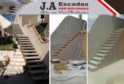 J.A - ESCADAS PRÉ-MOLDADAS