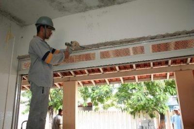 Reformas, construções e instalações